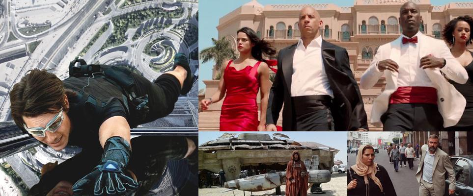 Movies filmed in the UAE