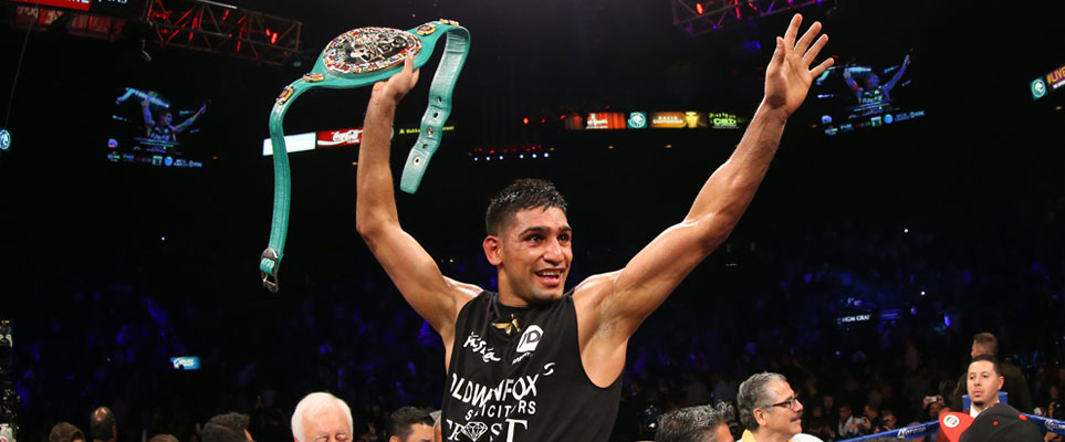 "Amir Khan ""wants to fight Manny Pacquiao in Dubai"""
