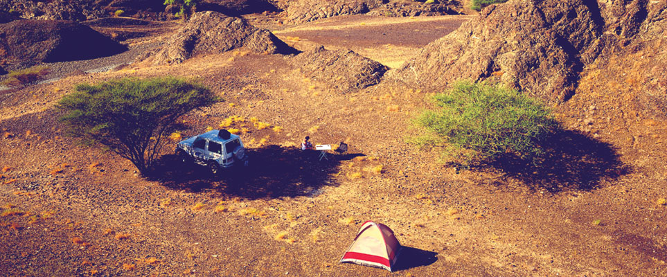 Camping in Dubai and the UAE - a complete guide