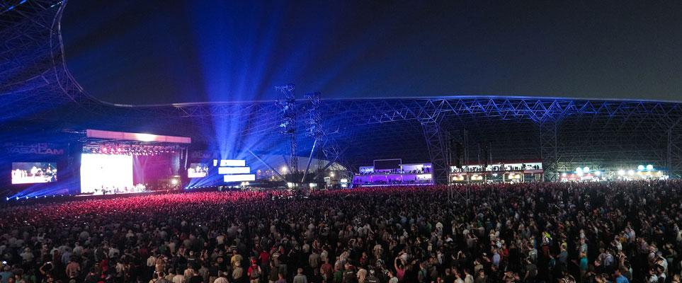Du Arena Abu Dhabi has makeover