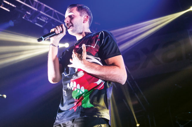 Example in Dubai - star set for Nasimi Sessions