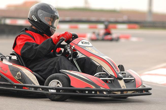 Go-karting at Al Forsan