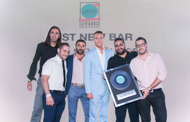 Hype Music & Nightlife Awards at EDEN Beach Club - Cielo, best new bar in Dubai