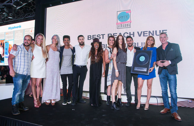 Hype Music & Nightlife Awards at EDEN Beach Club - Blue Marlin, best beach venue
