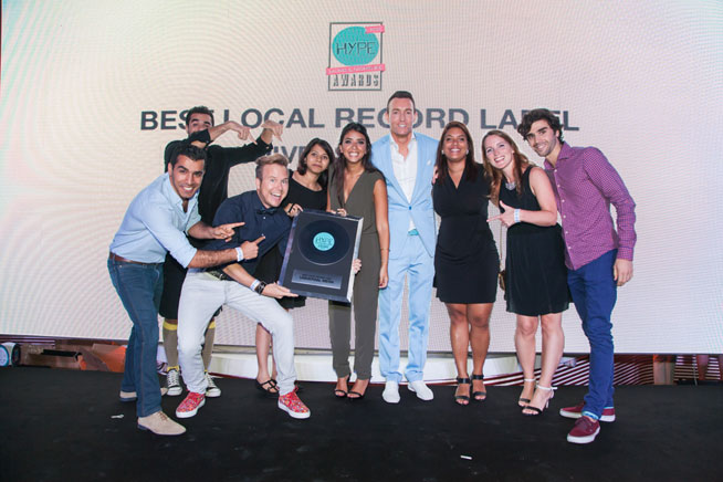 Hype Music & Nightlife Awards at EDEN Beach Club - Universal MENA, best local record label