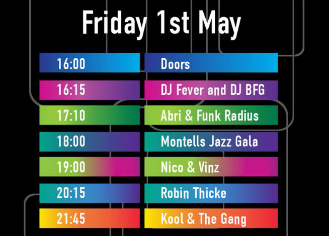 May 1 - Blended timetable