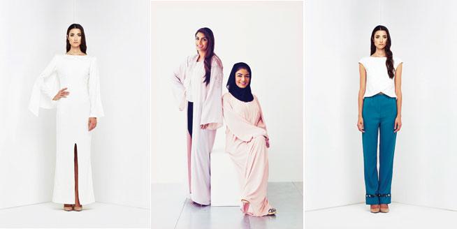 Nadia and Lubna Zakwani