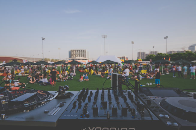 Piknic Electronik Dubai, at Dubai Sports City