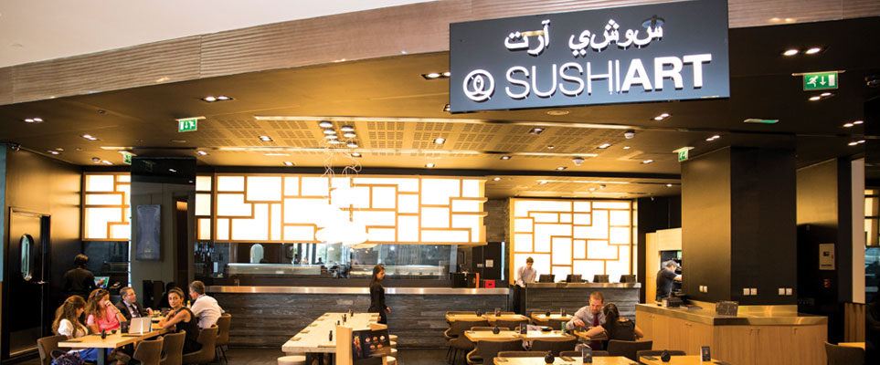 best sushi in Abu Dhabi