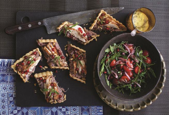 Suzanne Market Kitchen brunch Caramelized Onion Tart