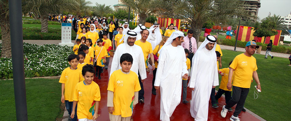 Walking groups in Abu Dhabi