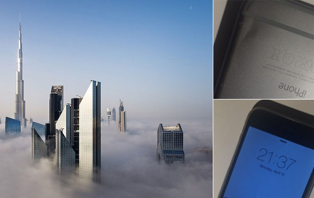 VIDEO: iPhone falls from Dubai skyscraper