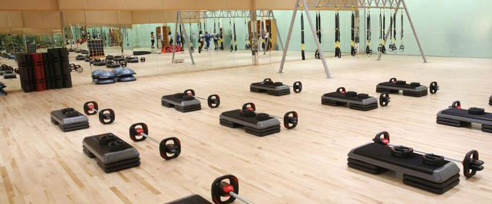 Abi Dhabi Country Club gym