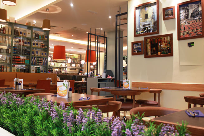 Carluccio's in Dubai - interview with Antonio Carluccio