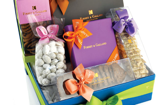 Forrey And Galland gift hamper