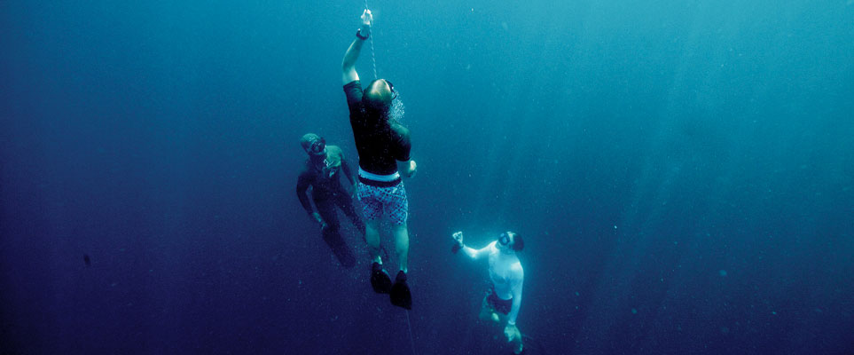 Learn how to freedive in Abu Dhabi