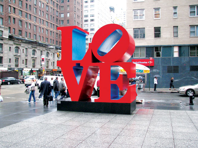 Public art - LOVE, Philadelphia