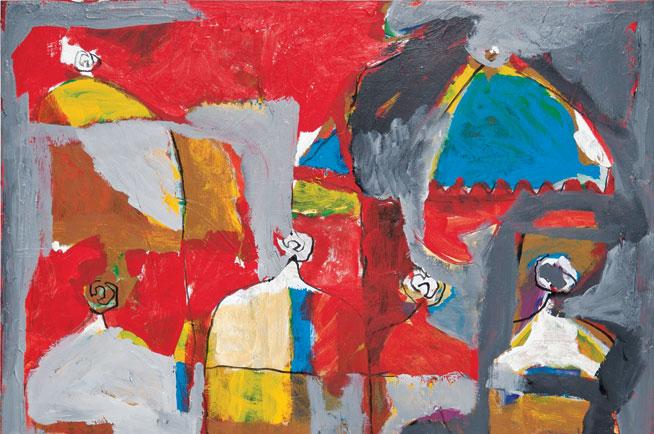 Return To Abstraction - art exhibit in Dubai