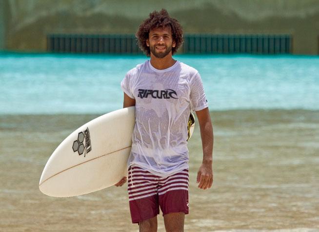 Surfing in Dubai - Mohammad Rahma