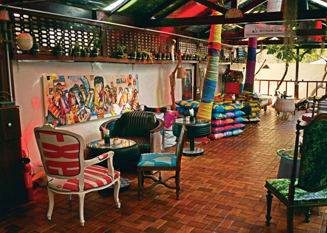 Some of the best coffee shops in Abu Dhabi - The Art House Cafe