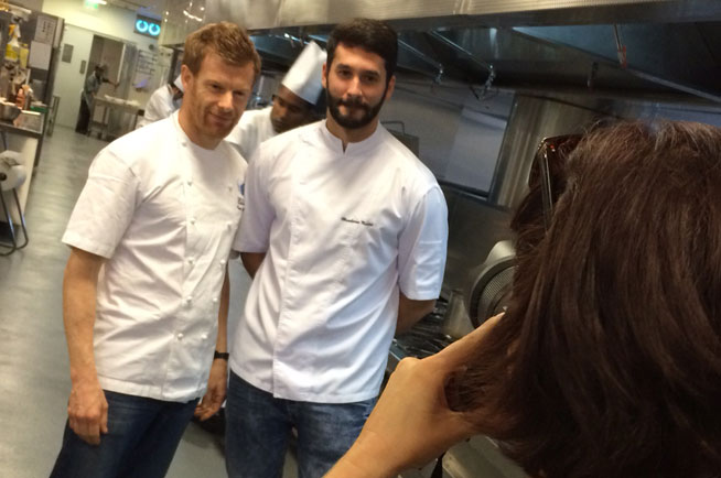 Tom Aikens spotted in Dubai