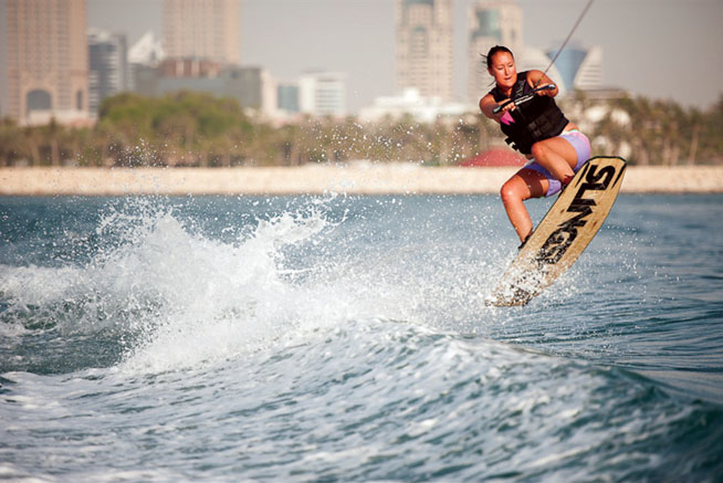 Wakeboarding - extreme watersports in Abu Dhabi