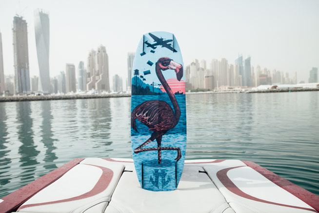 Humanoid oracle wakeboard