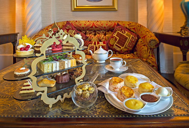Jumeirah Zabeel Saray afternoon tea