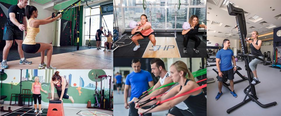 personal training studios in Dubai