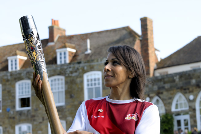 Queen's Baton Relay reaches Kent Kent