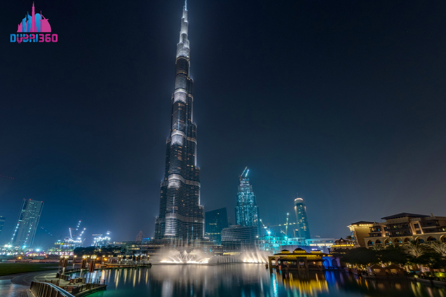 Burj Khalifa at Night 2