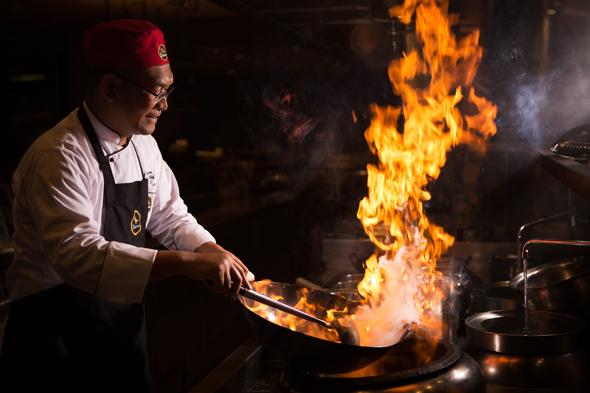 Chef Taufik Sutisna Wok 4