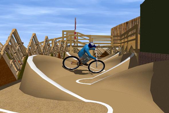 Wall Bike Park