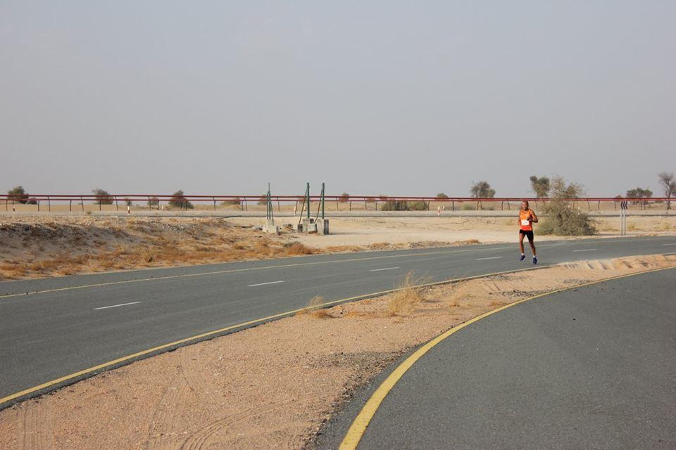 Desert road run