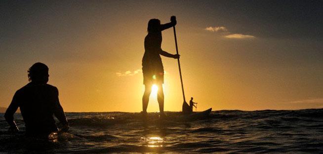 paddleboarding Dubai