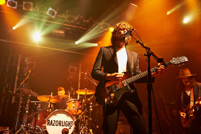 Razorlight Perform At Electric Ballroom In London
