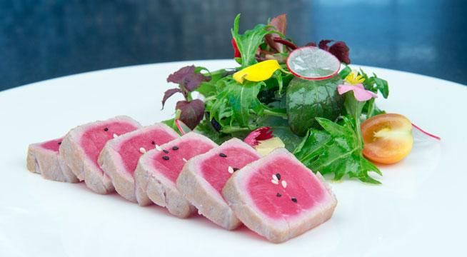 tuna at moana sofitel the palm