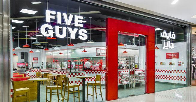 five guys dubai marina