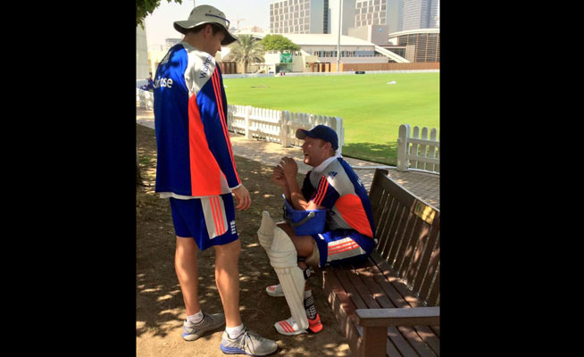 english cricket team in Dubai