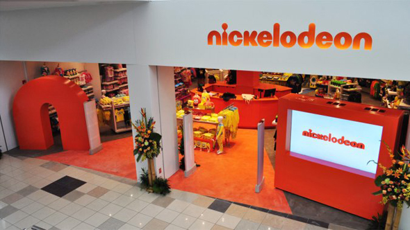 Nickelodeon retail store