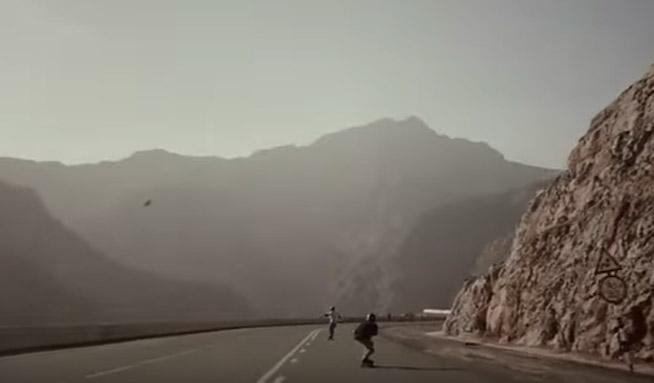 Longboarding in the UAE