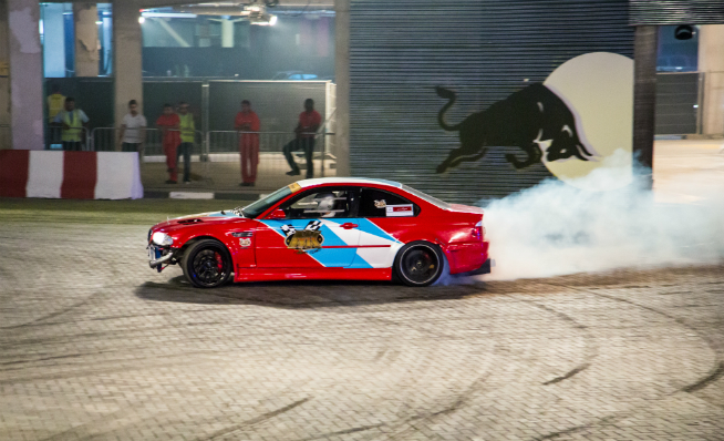 Red Bull Drifting
