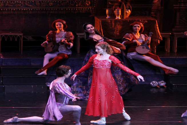 Yulia Zhuravleva in Romeo and Juliet 3