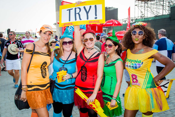 Rugby Sevens Constumes