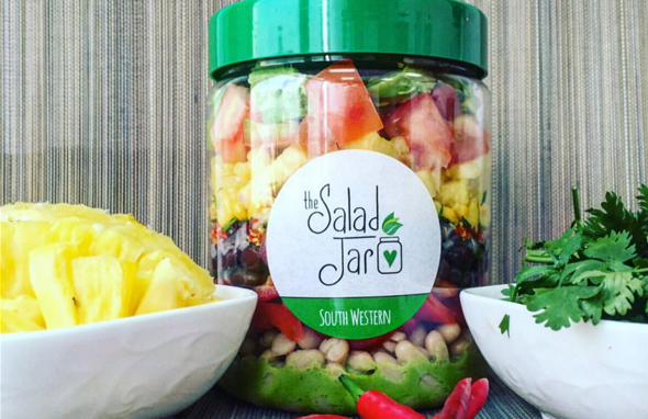 the salad jar