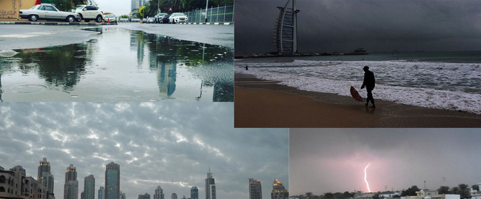 In pictures: Rain in Dubai today - What's On Dubai