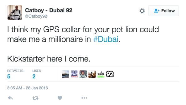 Dubai Tweets