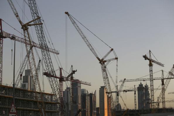 Dubai Cranes