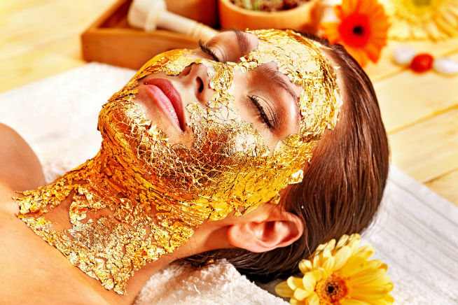 Emirates Palace gold facial Spa Sparkle