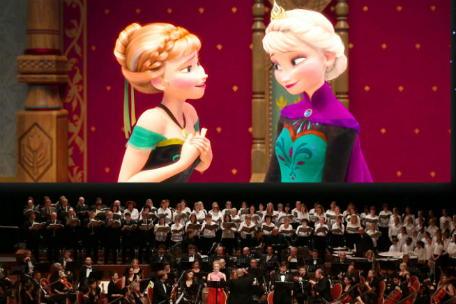 The movie's musical soundtrack comes to life